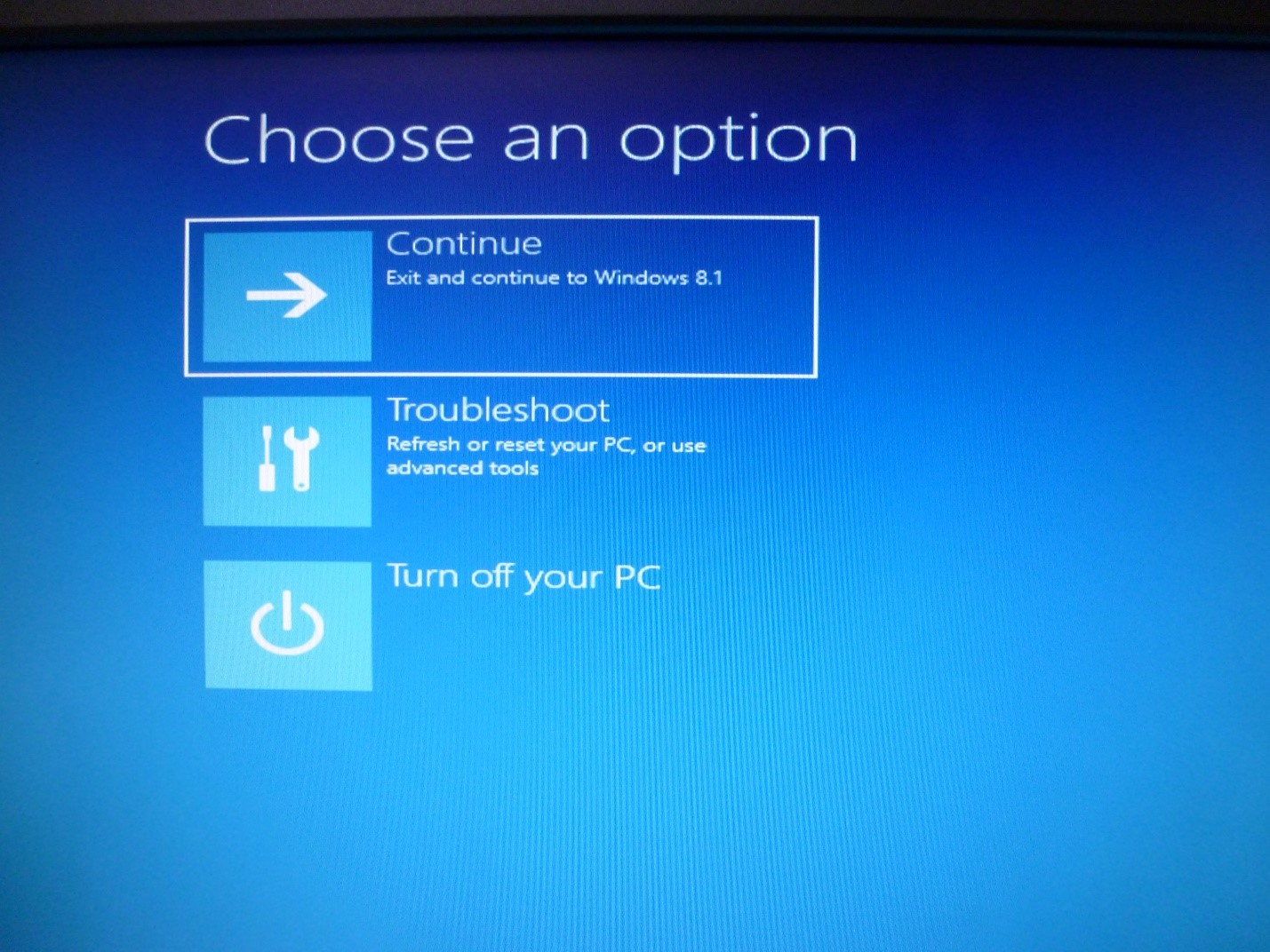 how to use recovery disc windows 8