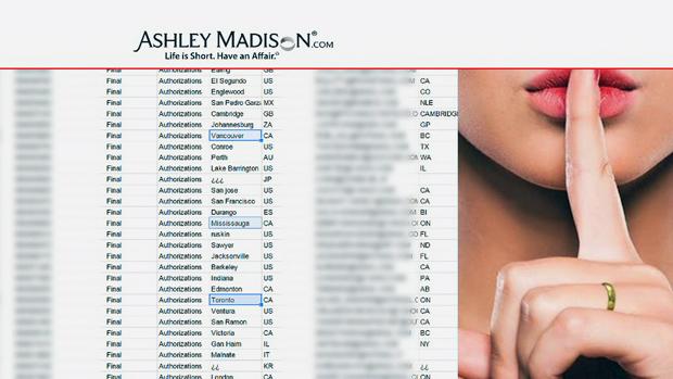 ashley madison billing name
