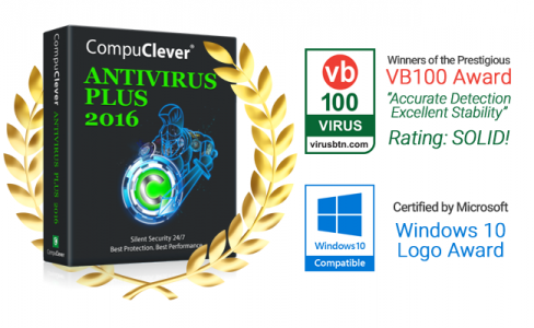 CompuClever Antivirus PLUS Achieves VB100 Certification With a Full Mark and a Favorable Review