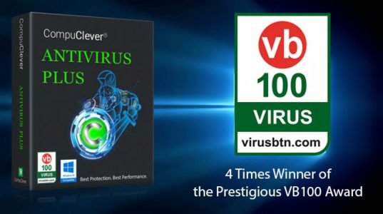 CompuClever Antivirus PLUS – VB100 Award!