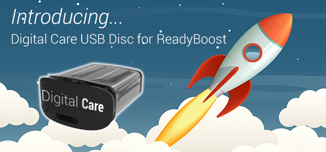 A Quick Start Guide for Digital Care ReadyBoost USB Disc