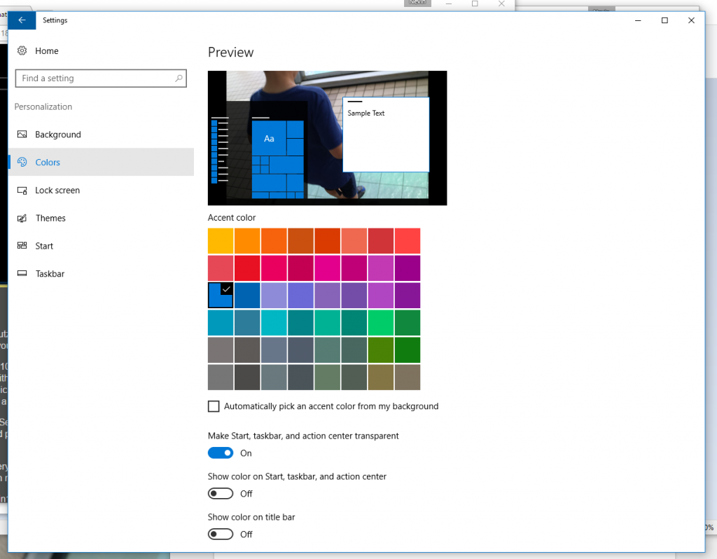 how to personalize windows 10